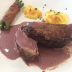 Chateaubriand mit Rotweinsauce
