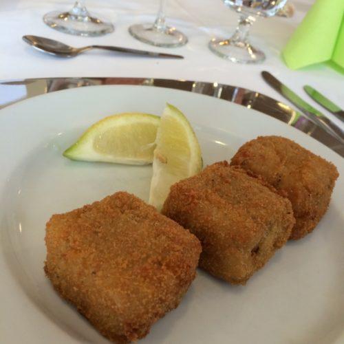 Arancini, Reisbällchen aus Risotto