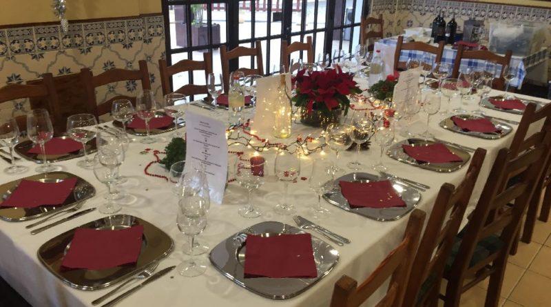 Tafel Weihnachtssessen