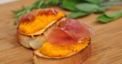 Crostini mit Kürbiscreme