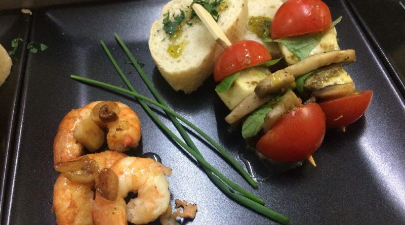 Tomaten- Mozzarellaspiesschen