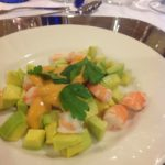 Krabben Cocktail mit Avocado