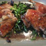 Ente auf Salat